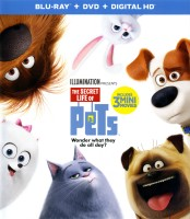 The Secret Life of Pets: Blu-ray + DVD + Digital HD cover art - click to buy from Amazon.com