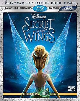 Secret of the Wings: Flitterrific Fairies Double Pack cover art - click to buy 4-disc Blu-ray 3D combo pack from Amazon.com