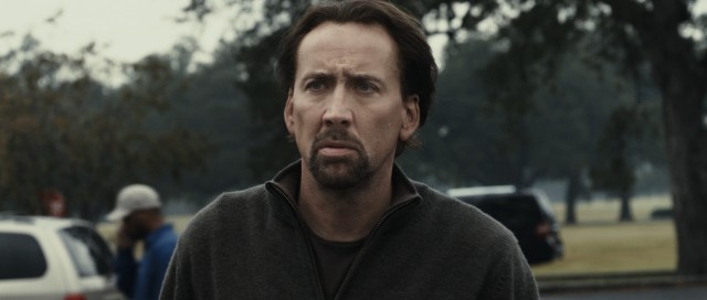 "In ""Seeking Justice"", Nicolas Cage plays New Orleans high school English teacher Will Gerard, a man reluctant to repay a favor to a vigilante vengeance operation."