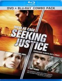 Seeking Justice: DVD + Blu-ray Combo Pack cover art -- click to buy from Amazon.com