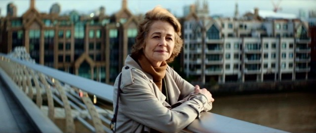 Fresh off her Academy Award nomination, Charlotte Rampling plays the present day Veronica Ford.