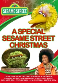 A Special Sesame Street Christmas DVD cover art -- click to buy DVD from Amazon.com
