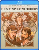 The Seven-Per-Cent Solution Blu-ray + DVD cover art -- click to buy from Amazon.com