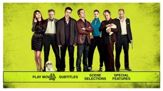 Regardless of their disparate screentime and natures, the seven top-billed actors pose as the Seven Psychopaths on the poster-recycling DVD main menu.
