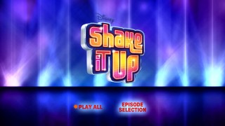 "The menus of the all-""Shake It Up"" Disc 2 menus don't even make reference to ""Geek Charming."""