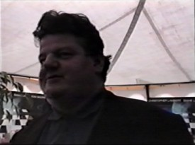 "Robbie Coltrane (Rubeus Hagrid to Harry Potter fans) is among those interviewed at the 1992 Edinburgh Film Festival in Andrew and Kevin Macdonald's ""Video Diary."""