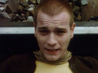 "In character as the short-haired Renton, Ewan McGregor addresses viewers in the ""Trainspotting"" teaser trailer."