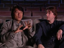 "Director David Dobkin is all ears as Jackie Chan explains his art in ""Fight Manual."""