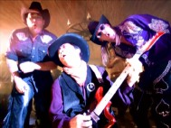 "Jackie Chan rocks out on guitar in between Uncle Kracker and Kid Rock in the ""Yeah, Yeah, Yeah"" music video."