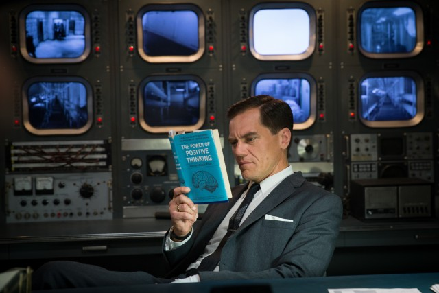 Michael Shannon embodies white male privilege in his role as the film's villain Strickland.