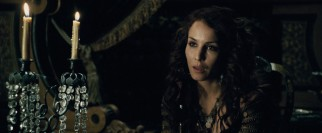 Swedish actress Noomi Rapace joins the cast as mysterious Gypsy fortune teller Madame Simza Heron.