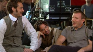 A Focus Point piece shows us some of the cheerful collaboration of Jude Law, Robert Downey Jr., and director Guy Ritchie.
