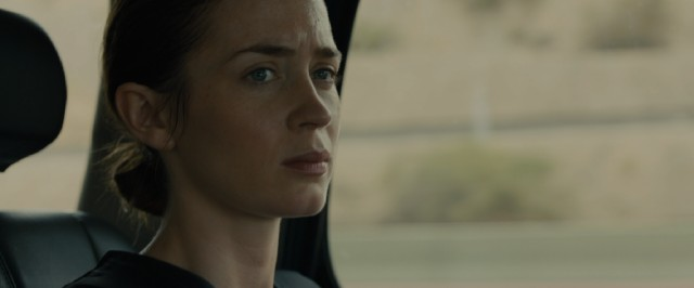 """Sicario"" stars Emily Blunt as Kate Macer, an FBI agent who volunteers for an interdepartmental task force to deal with US-Mexican drug trafficking."