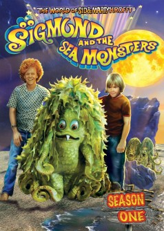 Sigmund and the Sea Monsters: Season One DVD cover art - click to buy from Amazon.com