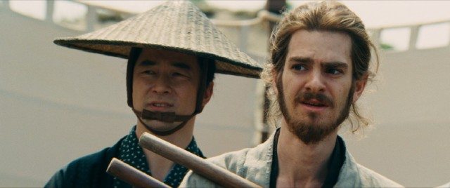 Japanese authorities' enforcement of the law that banishes Christianity puts Father Rodrigues (Andrew Garfield) in a difficult position.