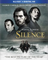Silence: Blu-ray + Digital HD combo pack cover art - click to buy from Amazon.com
