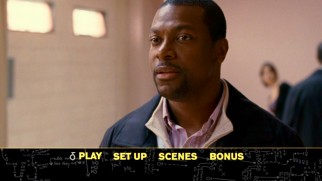 Chris Tucker pops up in the DVD's main menu montage.