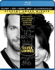 Silver Linings Playbook: Blu-ray + DVD + Digital Copy + UltraViolet - April 30