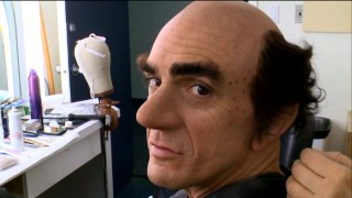 "For Hank Azaria, ""Going Gargamel"" involves bushy eyebrows, a prosthetic nose, buckteeth, and a shave."