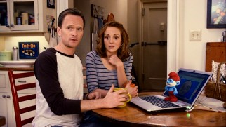 Between Wikipedia, Google, and Papa Smurf, Patrick (Neil Patrick Harris) and Grace (Jayma Mays) have a good deal of Smurf knowledge dropped on them.