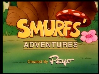 "Two of the ten episodes on the ""A Magical Adventure"" DVD call the show ""Smurfs' Adventures"", as a 1987 syndication package did."