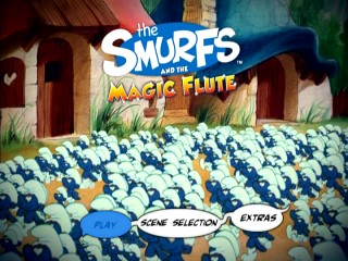 "The Smurfs aren't in the movie all that much, but they dominate the cover art and main menu, with ""John and William"" kept out of sight."