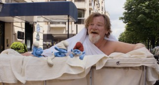 Brendan Gleeson loses his clothes and a little bit of his dignity as Victor, a.k.a. Grandpa Vicster.