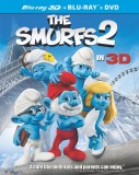 The Smurfs 2: Blu-ray 3D + Blu-ray + DVD + Digital HD UltraViolet combo pack cover art -- click to buy from Amazon.com