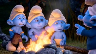 "In ""The Smurfs: The Legend of Smurfy Hollow"", three stranded Smurfs gather around a campfire to hear Narrator Smurf tell a not so scary story."