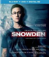 Snowden: Blu-ray + DVD + Digital HD cover art - click to buy from Amazon.com