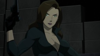 Talia al Ghul can defend herself with an arsenal that includes two weapons of mass distraction.