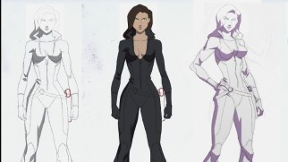 Phil Bourassa explains why Talia al Ghul looks as she does. Her eyes are up there!