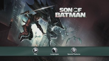 "Where have I seen this image before? The Son of Batman"" menu earns no points for creativity."