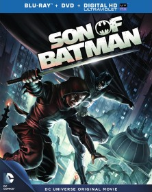 Son of Batman (2014) Blu-ray + DVD + Digital HD UltraViolet cover art -- click to buy from Amazon.com