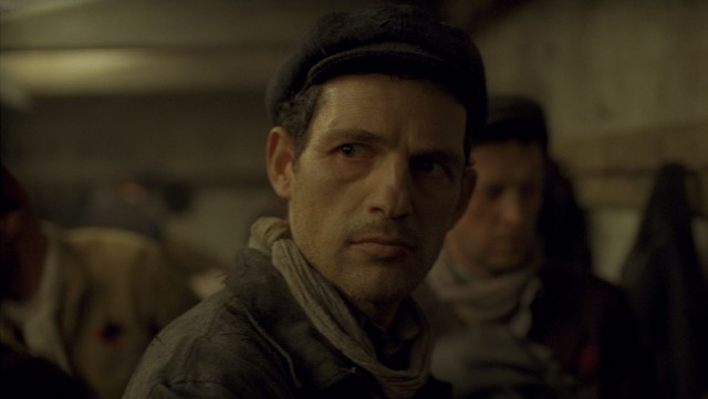 """Son of Saul"" focuses on Saul Ausländer (Géza Röhrig), a member of Auschwitz's Sonderkommando determined to give his son a proper Jewish burial."