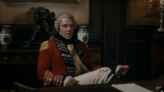 Marton Csokas embodies evil as General Thomas Gage, a man whose actual principles differ from those displayed here.