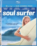 Soul Surfer: Blu-ray + DVD combo pack cover art -- click to buy from Amazon.com