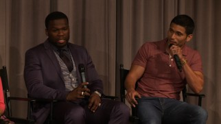 "Curtis ""50 Cent"" Jackson injects humor into the Screen Actors Guild's Cast Q & A."