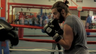A small fraction of Jake Gyllenhaal's intense boxing training is made into a montage.