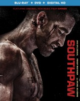 Southpaw: Blu-ray + DVD + Digital HD combo pack cover art -- click to buy from Amazon.com