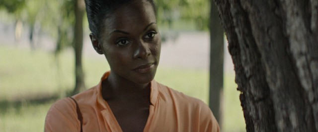 Tika Sumpter portrays Michelle Robinson, the future First Lady of the United States.