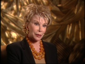 "Heard but not seen in the film, Joan Rivers is among the many proud cast and crew members appearing in 2005's ""Spaceballs: The Documentary."""
