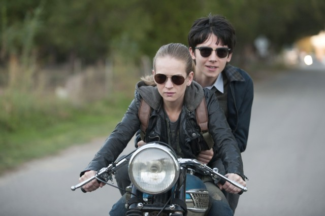 "A teenage boy born on Mars (Asa Butterfield) visits Earth and gets a motorcycle ride with edgy foster teen Tulsa (Britt Robertson) in ""The Space Between Us."""