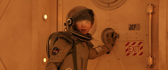 """The Space Between Us"" stars Asa Butterfield as Gardner Elliot, who has spent the first sixteen years of his life on Mars."