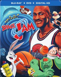 Space Jam: 20th Anniversary Blu-ray + DVD + Digital HD cover art -- click to buy from Amazon.com