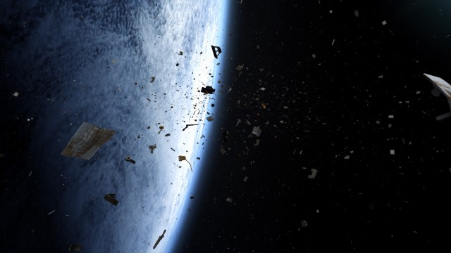 "There's junk all over space in ""Space Junk 3D."""