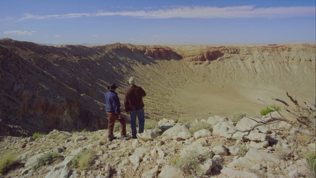 The film journeys to Meteor Crater, Arizona to demonstrate the impact space can have on our planet.