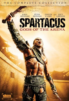 Spartacus: Gods of the Arena: The Complete Collection DVD cover art - click to buy from Amazon.com