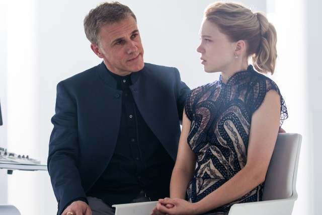 Christoph Waltz plays villain Franz Oberhauser, while France's Léa Seydoux is Madeleine Swann, the latest in a long line of Bond girls.