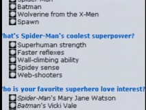 "Spider-Man blows away the competition (especially Spawn) in E!'s not quite scientific ""Spider-Mania"" web polls."